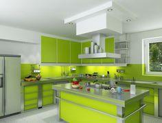 cuisine-verte-design-ilot-central