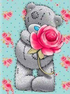 Diamond embroidery for children Cartoon bear diamond painting complete mosaic pattern Cross-stitch kits Pictures of rhinestones. Tatty Teddy, Bear Cartoon, Cartoon Kids, Teddy Bear Drawing, Teddy Bear Quotes, Bear Images, Teddy Bear Pictures, Blue Nose Friends, Tatoo Art