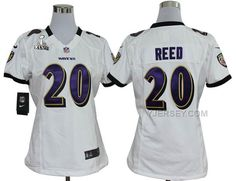 http://www.yjersey.com/nike-ravens-20-reed-white-women-game-2013-super-bowl-xlvii-jersey-cheap.html #NIKE RAVENS 20 REED WHITE WOMEN GAME 2013 SUPER BOWL XLVII JERSEY #CHEAPOnly$36.00  Free Shipping!