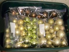 Storing Christmas Decorations by Organize and Decorate Everything