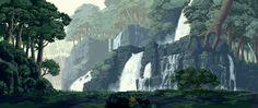fonds animés: les jeux de combat en Pixel Art - fonds d'écran gratuits by unesourisetmoi