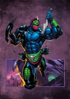 Trapjaw coloured by *spidermanfan2099 on deviantART