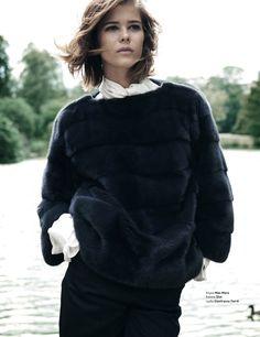 mink pullover