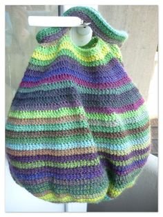 crochet- but this would look great in bilum stitch