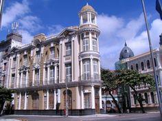 Recife, Pernambuco, Brasil - Recife Antigo (Centro Cultural Santander)