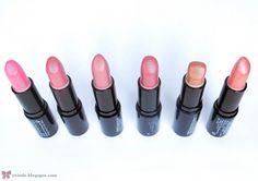 Rimmel Lasting Finish Lipsticks | Review + Swatches - Pink Blush - Vintage - Airy Fairy - Asia - Birthday Suit - Nude Pink