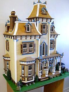 The Beacon Hill Dollhouse By Greenleaf