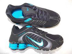 Womens Nike Shox Navina shoes sneakers new black 356918 014 #Nike #Athletic