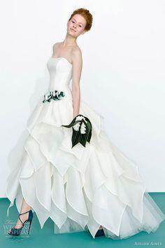 Atelier Aimée 2013 Color Wedding Dresses | Wedding Inspirasi