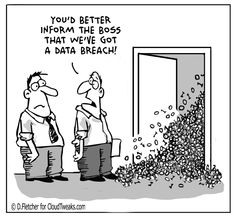 The Lighter Side Of The Cloud – Data Breach