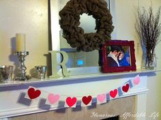 Glamorous, Affordable Life: { Cute Valentines Banner }