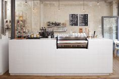 café coutume restaurant interior design by cut architectures, Paris Deco Restaurant, Restaurant Design, Café Design, Paris Design, Design Ideas, Deco Cafe, Coffee In Paris, Cafe Counter, Shop Counter