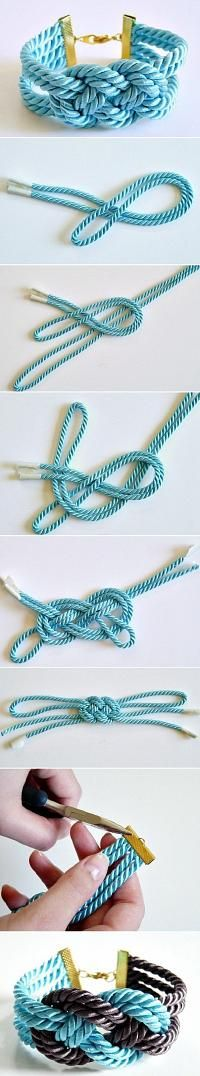 Trends I Love: DIY Lovely Thick Bracelet DIY Projects | UsefulDIY.com - Socialbliss