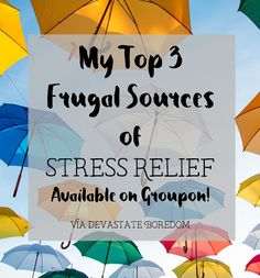 Stress relief doesn't have to be expensive -- you can find inexpensive, relaxing…