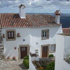 The town within the walls with its beautifully white-washed houses #Marvao #Alentejo #Portugal