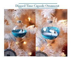 A Time Capsule Ornament allows your kids to tuck away memories each year. They can keep adding until they open and read when they start putting up their own Christmas trees. #ChristmasTraditions