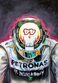 AMG Petronas Pilot Lewis Hamilton
