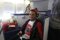 49ers QB Colin Kaepernick en route to the Super Bowl #beattheravens