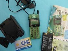 a le cristal telephone matra gsm transparent au feminin pour collection