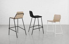 SLING chair, counter stool, bar stool by m.a.d. Furniture Design