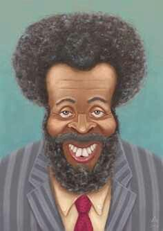 Very cool portrait painting of Brother Whitman Mayo Spr Delta Pi .known as Grady Wilson from Sanford and Son classic TV show. Cartoon Faces, Cartoon Art, Funny Faces, Cartoon Drawings, African American Art, African Art, Funny Caricatures, Celebrity Caricatures, Sanford And Son