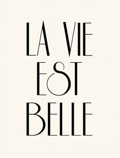 La Vie Est Belle pinned with Bazaart