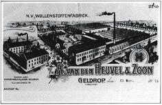 Briefhoofd van A. van den Heuvel & Zoon