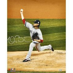 """Clay Buchholz Boston Red Sox Fanatics Authentic Autographed 16"""" x 20"""" 2013 World Series Champions Action Photograph"""