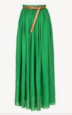 Tenue hijab jupe longue chic