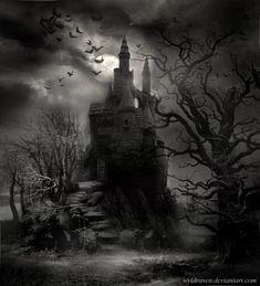 Pin by сергей on фон gothic castle, dark castle, gothic artwork. Gothic Horror, Arte Horror, Horror Art, Dark Fantasy Art, Dark Art, Gothic Castle, Dark Castle, Burg Tattoo, Castle Tattoo