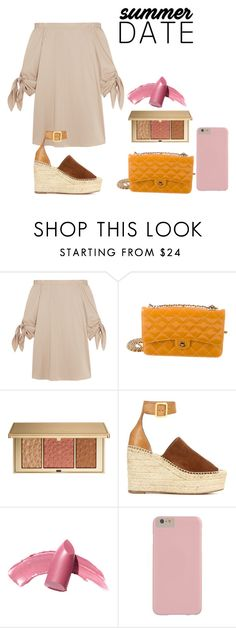 """""""yes"""" by mariecolic ❤ liked on Polyvore featuring TIBI, Chanel, Estée Lauder, Chloé and Elizabeth Arden"""