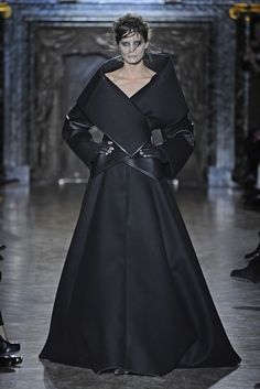 Gareth Pugh- beautiful silhouette; love the framing of the jacket