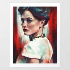 Irene Adler Art Print by Alice X. Zhang - $15.00