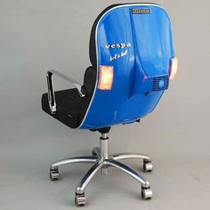 Old Vespas turned into retro and stylish chairs