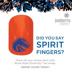 Wear your colors! Visit beautifuldawn.jamberrynails.net to order yours today.