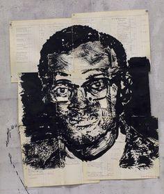 ウィリアム・ケントリッジ、「無題(パトリス・ルムンバI)、 '2016、グッドマンギャラリー