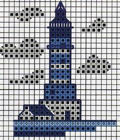 lighthouse cross stitch - Google Search