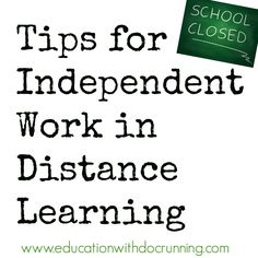 Moving an in-class activity to distance learning is a great way to keep your class on track.  4 tips to help you succeed in this new environment.  #distancelearningtpt #distancelearning #remotelearning #tptdistancelearning