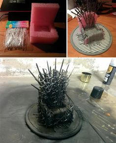 17 BEST DIY Game Of Thrones Crafts I am sure, there are a lot of Game Of Thrones lovers reading this article and have some high expectations regarding this. We have selected top Game Of Thrones DIY for you that you would love to do … Diy Phone Stand, Desk Phone Holder, Iphone Holder, Game Of Thrones Gifts, Game Of Thrones Party, Iphone S6 Plus, Iphone Phone, Diy Craft Projects, Diy And Crafts