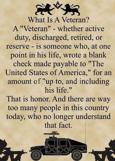 What is a Veteran...