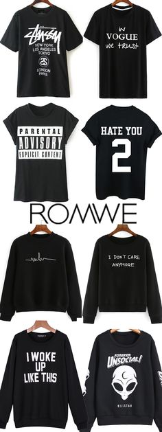 Crazy about Black Fashion Slogans! Free shipping on orders +US$50