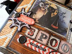 Spooky Sweets Recipe Album with Art Anthology