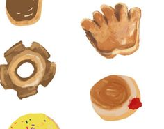 🍩 TO DO, OR TO DONUT🍩 This is an art print of a collection of donuts hand painted by Rocket Boogie Co. These art prints are packaged in a clear sleeve with a rigid backing. SIZES AVAILABLE: Colors might slightly vary due to monitor settings. Donuts, Lab, Eco Friendly, Fine Art Prints, Cool Designs, Menu, Hand Painted, Drop, Printed