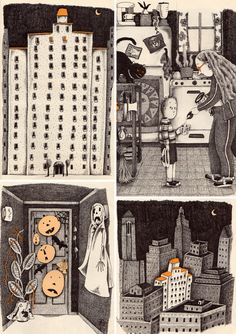 The Witch Who Lives Down the Hall by Donna Guthrie, illustrated by Amy Schwartz, 1985.