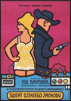 Jan Mlodozeniec, poster for Westworld 1978