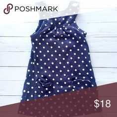 •Polkadot Heart Dress• This is a perfect summer dress for your little. Had two dainty heart pockets in the front. Pair with sandals to complete this look. Carter's Dresses Casual