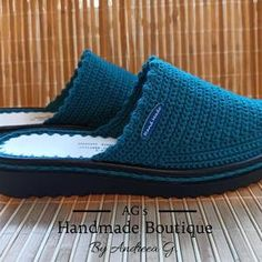 Pattern Handmade Crochet Mules Clogs Shoes for Nurses and   Etsy Clogs Shoes, Mules Shoes, Nursing Clogs, Shoe Pattern, Nurses, Comfy, Crochet, Handmade, Etsy