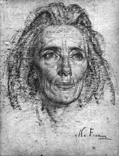 Nicolai Fechin was a master Russian artist known for his dynamic paintings and intricate drawings. Learn more about his life, style and master artworks. Portrait Sketches, Pencil Portrait, Portrait Art, Life Drawing, Drawing Sketches, Painting & Drawing, Nicolai Fechin, Dynamic Painting, Academic Drawing