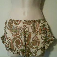 J Galt usa uo sheer sleep short os 20 in waist with elastic band stretch pretty print j. galt Intimates & Sleepwear Pajamas