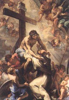 Christ embracing St. Bernard, San Bernardo Alle Terme, Rome
